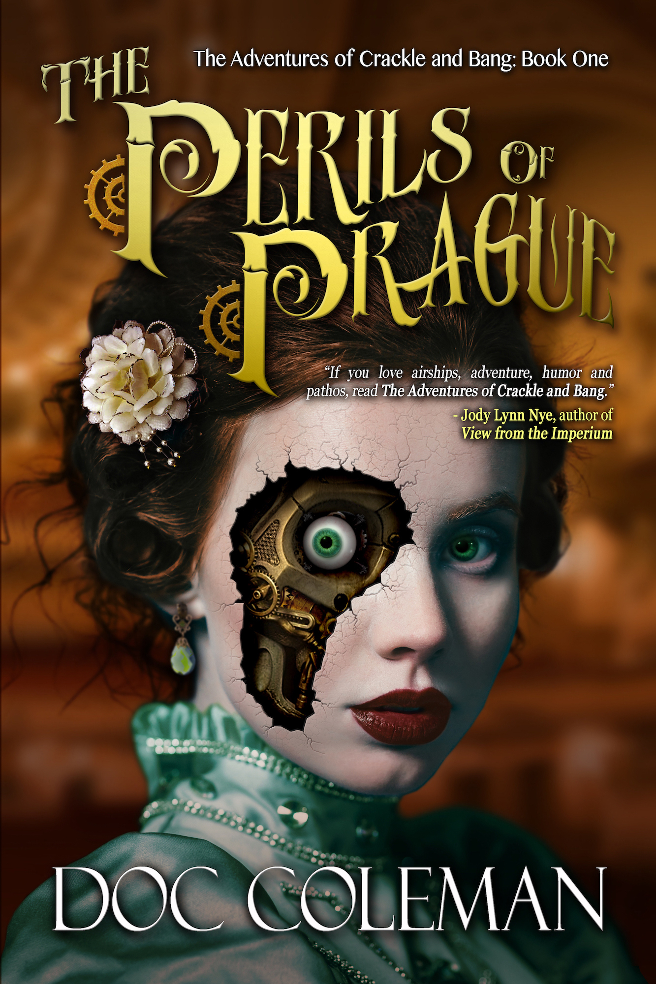 The Perils of Prague, The Adventures of Crackle & Bang, Book 1
